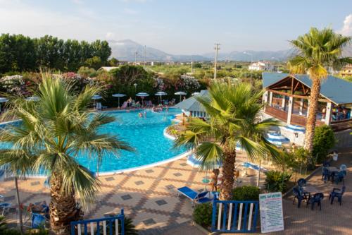 La piscina dell'Hotel